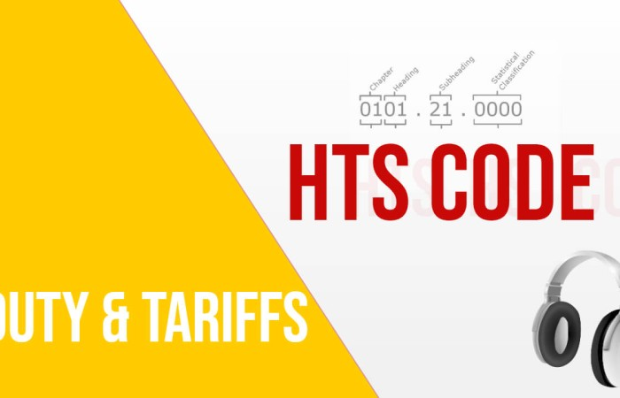 HTS Code Lookup: How Much DUTY & TARIFF Need to Pay?