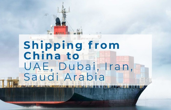 DDP Shipping from China to UAE Dubai Iran Saudi Arabia