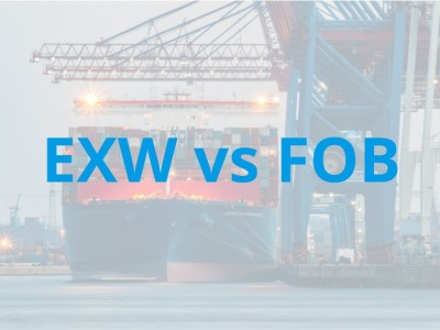 What is the Difference Between EXW vs FOB?