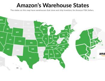 Amazon Warehouse Locations List: Ship to Amazon Fulfillment Center