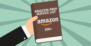 Amazon prep service list