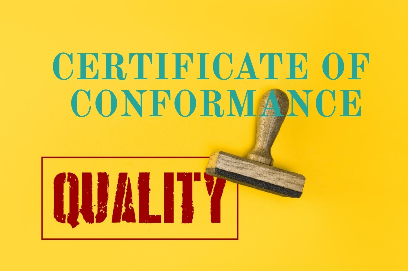 what is Certificate of Conformance means